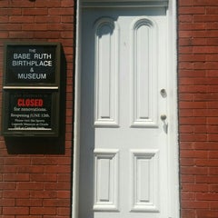 Photo taken at Babe Ruth Birthplace & Museum by Cameron M. on 5/31/2015