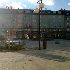 Photo taken at Náměstí ČSA by Mateusz W. on 12/2/2013