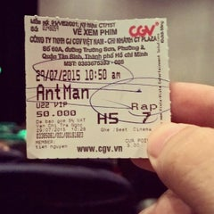 Photo taken at CGV Cinemas CT Plaza by Tien G. on 7/29/2015