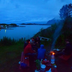 Photo taken at Ørsvågvær Camping by Brecht S. on 8/1/2015
