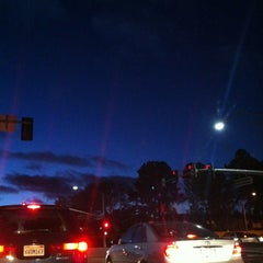 Photo taken at Lawrence Expressway at Homestead Rd. by Michael L. on 1/12/2013