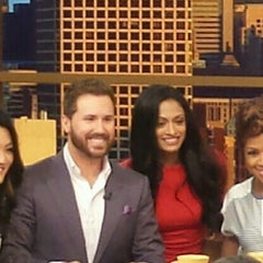 Photo taken at Windy City LIVE @ WLS ABC7 Studios by Tam D. on 6/12/2015