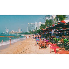Photo taken at หาดพัทยา (Pattaya Beach) by Azhar on 12/25/2014