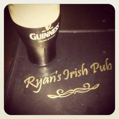 Photo taken at Ryan's Irish Pub by //sarah on 1/11/2013