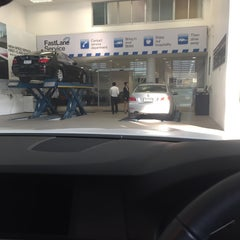 Photo taken at BMW German Auto by Tarin 'Boat' W. on 1/26/2015