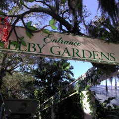 Photo taken at Marie Selby Botanical Gardens by Melissa S. on 12/23/2012