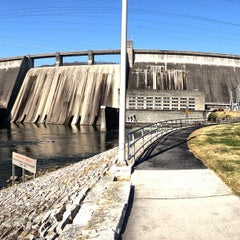 Photo taken at Norris Dam State Park by Albert C. on 11/21/2012