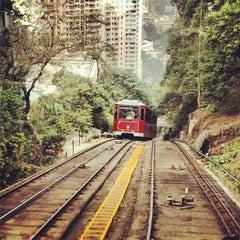 Photo taken at Peak Tram Upper Terminus 山頂纜車凌霄閣總站 by Simon F. on 11/5/2012