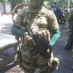 Photo taken at Cousins Paintball Staten Island by Fadi T. on 6/7/2015