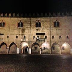 Photo taken at Piazza Sordello by Simon L. on 1/1/2013