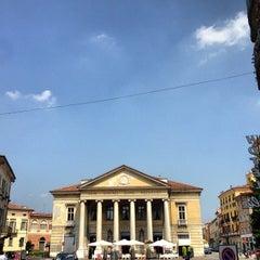 Photo taken at Teatro Sociale di Mantova by Simon L. on 7/22/2013