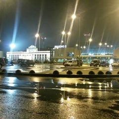 Photo taken at Аэропорт Пулково-2 / Pulkovo-2 Airport (LED) by Maxim S. on 10/26/2013