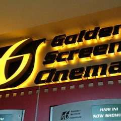 Photo taken at Golden Screen Cinemas (GSC) by Robin M. on 7/26/2015