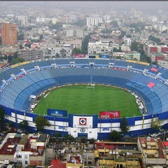 Photo taken at Estadio Azul by Luis M. on 9/7/2013