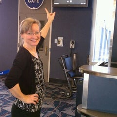 Photo taken at Concourse B - Richmond International Airport by Leslie 🔆 H. on 3/22/2012