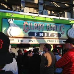 Photo taken at Gilroy Garlic Fries by Kevin K. on 4/21/2013