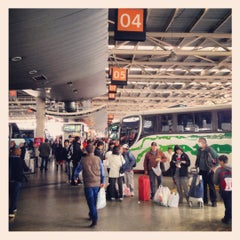 Photo taken at Terminal de Buses San Borja by Javier P. on 9/29/2012