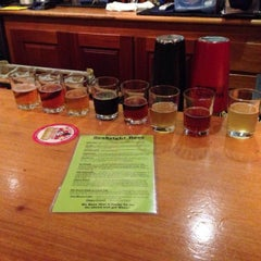 Photo taken at Seabright Brewery by Adam C. on 1/24/2014