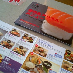 Photo taken at Sushi King by Izza Fara on 10/18/2012