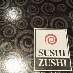 Photo taken at Sushi Zushi by Edmond L. on 6/8/2013
