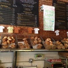 Photo taken at Olde Brooklyn Bagel Shoppe by Jay T. on 4/10/2013