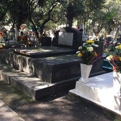 Photo taken at Panteón San Rafael by Ismael M. on 11/2/2015