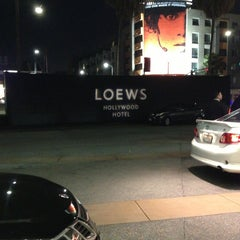 Photo taken at Loews Hollywood Hotel by Tammy B. on 3/15/2013