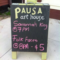 Photo taken at PAUSA Art House by Beth S. on 8/2/2013