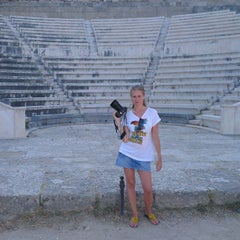 Photo taken at Αρχαιο Σταδιο - Hellenistic Stadium by Андрей Б. on 9/29/2013