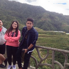 Photo taken at Banaue Rice Terraces Viewpoint by Amaine M. on 11/21/2015