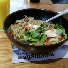 Photo taken at Wagamama by Damir S. on 4/17/2014