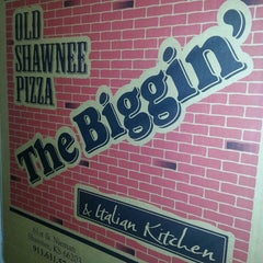 Photo taken at Old Shawnee Pizza & Italian Kitchen by Old Shawnee Pizza & Saloon on 3/1/2013
