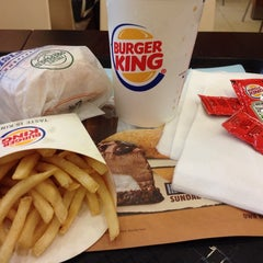 Photo taken at Burger King by He X. on 12/25/2014