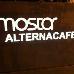 Photo taken at Mostar Alterna Cafe by nassos k. on 10/12/2012