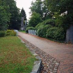 Photo taken at Schloßgarten by Alexander B. on 10/10/2014