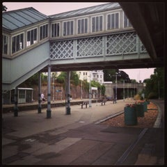 Photo taken at Lewes Railway Station (LWS) by Martin F. on 7/25/2013