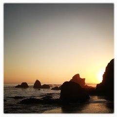 Photo taken at El Matador State Beach by Paul Andrew D. on 3/9/2013
