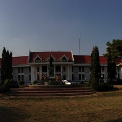 Photo taken at ศาลจังหวัดอยุธยา (Ayutthaya Provincial Court) by Surapas S. on 4/4/2013