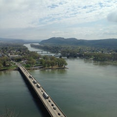 Photo taken at Shikellamy State Park Marina by Adam D. on 5/1/2014