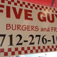 Photo taken at Five Guys by Steve on 11/24/2012