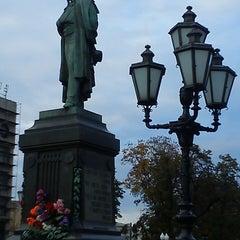 Photo taken at Памятник А. С. Пушкину by Yaroslav A. on 9/22/2013