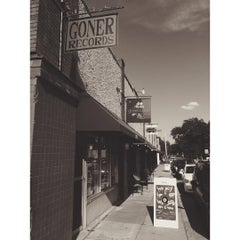 Photo taken at Goner Records by Charlie S. on 8/29/2015