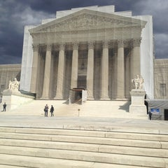 Photo taken at Supreme Court of the United States by Lorelains on 3/29/2013