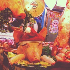Photo taken at Mercado Melchor Ocampo by Guadalupe R. on 12/30/2013