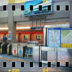 Photo taken at 捷運忠義站 MRT Zhongyi Station by edmund ng c. on 11/1/2014