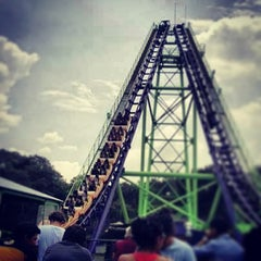 Photo taken at Six Flags México by Pablo L. on 8/8/2013