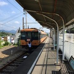 Photo taken at 金谷駅 (Kanaya Sta.) by N た. on 9/5/2015