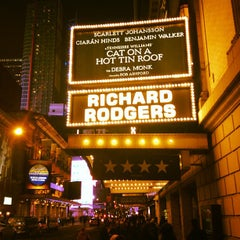 Photo taken at Richard Rodgers Theatre by Андрей А. on 2/6/2013