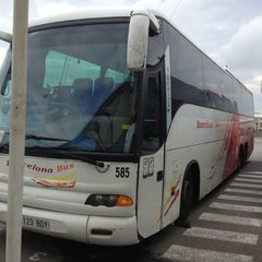 Photo taken at Barcelona Bus by Amelia J. on 10/25/2012