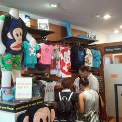 Photo taken at Paul Frank Store by Jaisang J. on 8/26/2012